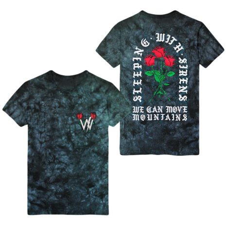 SLEEPING WITH SIRENS Move Mountains Tie Dye