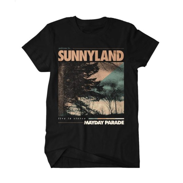 MAYDAY PARADE Welcome To Sunnyland Tshirt