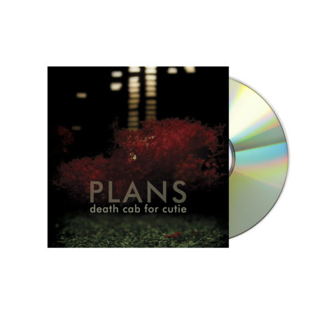 DEATH CAB FOR CUTIE Plans CD