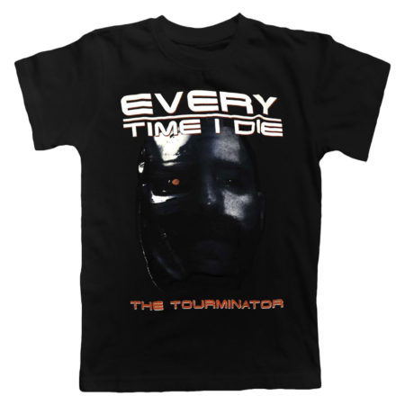 EVERYTIME I DIE The Tourminator Tshirt