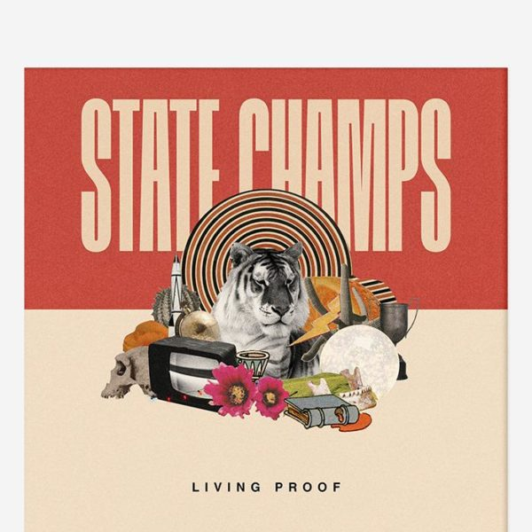 STATE CHAMPS Living Proof CD + Signed Booklet CD
