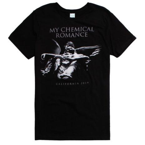 My Chemical Romance Angel Statue Tshirt