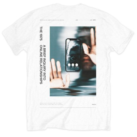 The 1975 Abiior Side Face Time Tshirt Back
