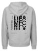 The 1975 Music For Cars Heather Gray Hoodie Back