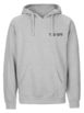 The 1975 Music For Cars Heather Gray Hoodie Front