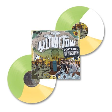 ALL TIME LOW Don't Panic It's Louder Now Vinyl