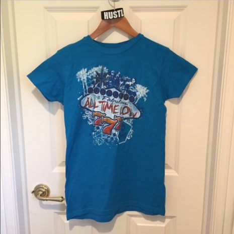 ALL TIME LOW Hustlers Club Tshirt