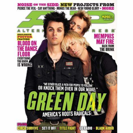 ALTERNATIVE PRESS 291.2 - Green Day Magazine