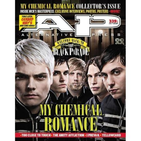 ALTERNATIVE PRESS 339.1 My Chemical Romance Magazine