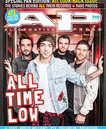 ALTERNATIVE PRESS 348 All Time Low Fan Issue Magazine