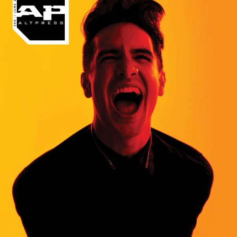 ALTERNATIVE PRESS 359 Brendon Urie [PATD] Solo Rider Hell Magazine