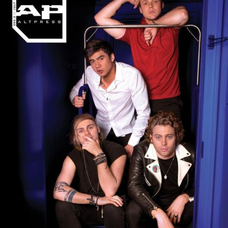 ALTERNATIVE PRESS 360.2 5 Seconds of Summer Magazine
