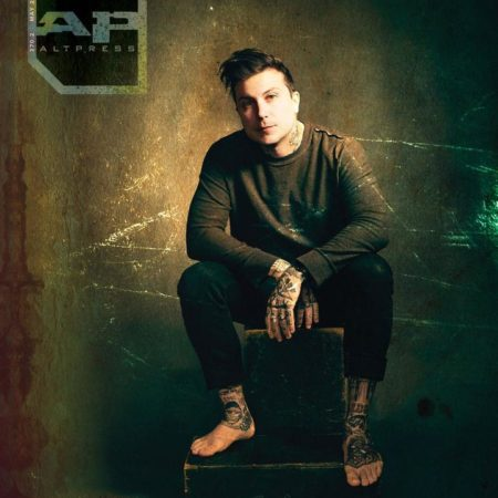 ALTERNATIVE PRESS 370.2 Frank Iero Magazine