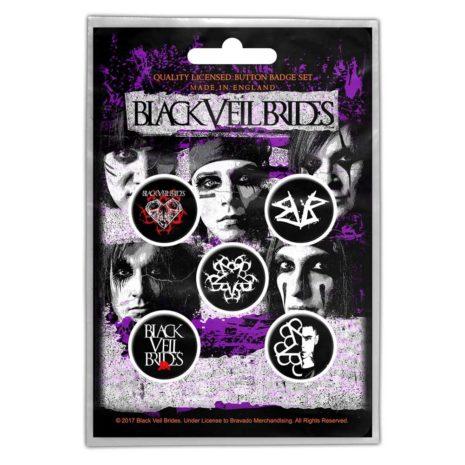 BLACK VEIL BRIDES Pentagram Pin Pack Other