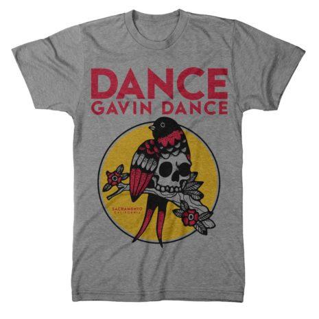 DANCE GAVIN DANCE Bird Skull Tshirt