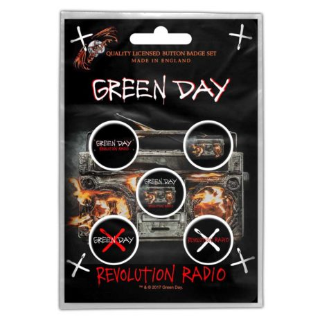 GREENDAY Revolution Badge Set Other