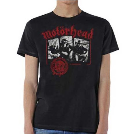MOTORHEAD Stamped Tshirt