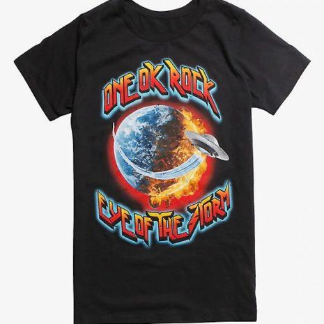 ONE OK ROCK Eye Of The Storm Black