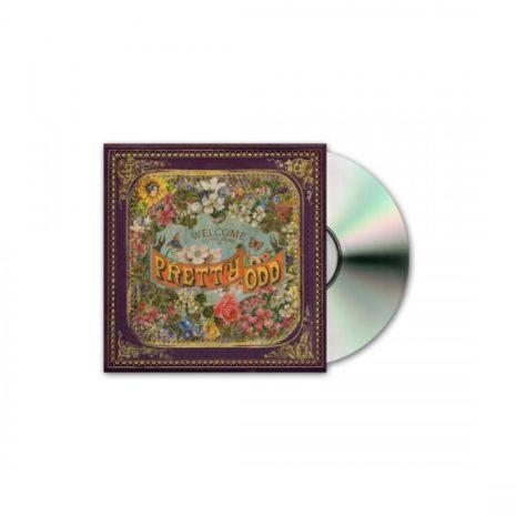 PANIC AT THE DISCO Pretty Odd (Case Dent) CD