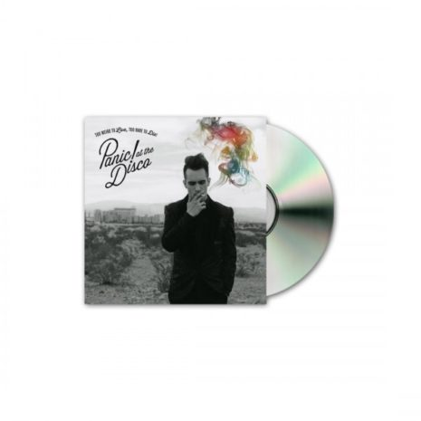 PANIC AT THE DISCO Too Weird To Live CD