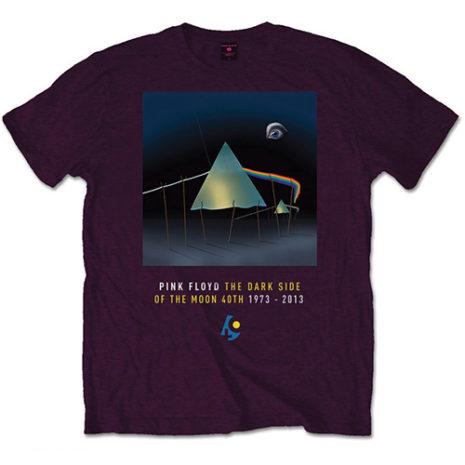 PINK FLOYD Dark Side Of The Moon Purple