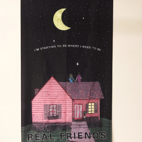 REAL FRIENDS Rooftop Flags