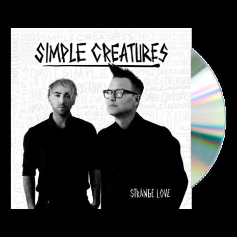 SIMPLE CREATURES Strange Love CD CD