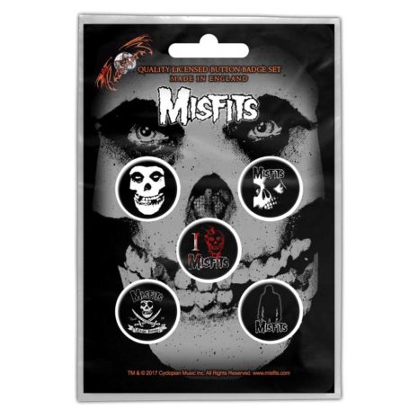 THE MISFITS Skull Pin Pack Other