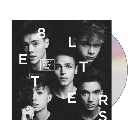 WHY DONT WE 8 Letters CD