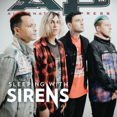 ALTERNATIVE PRESS Sleeping With Sirens 374.2 Magazine