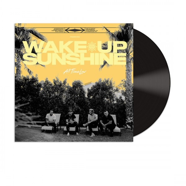ALL TIME LOW Wake Up Sunshine Vinyl