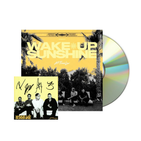 ALL TIME LOW Wake Up Sunshine Signed CD