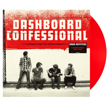 DASHBOARD CONFESSIONAL Alter The Ending Vinyl