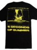5 SECONDS OF SUMMER Negative Photo T-Shirt Back