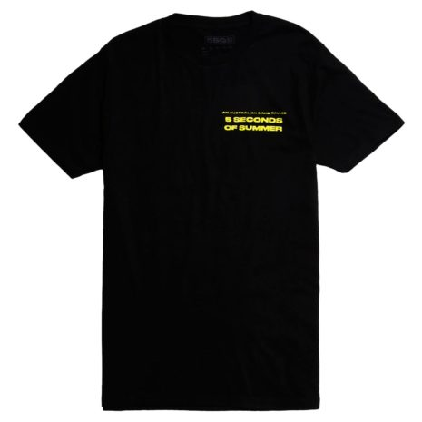 5 SECONDS OF SUMMER Negative Photo T-Shirt Front