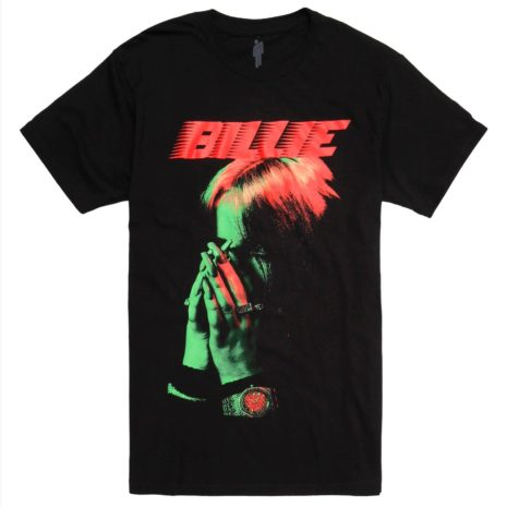 BILLIE EILISH Hand To Face T-Shirt