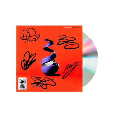 Neck Deep All Distortions Are Intentional CD Signed