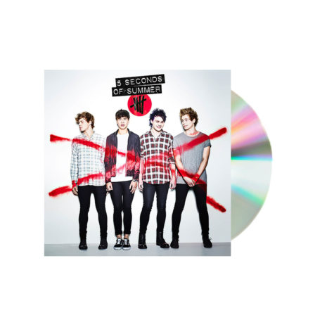 5 Seconds of summer self titled cd