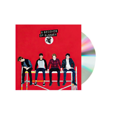 5 Seconds of summer self titled red cd