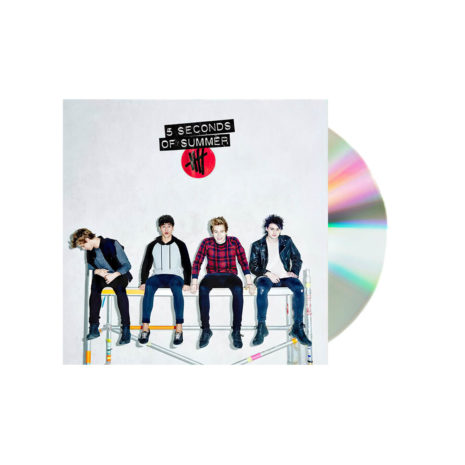 5 Seconds of summer self titled white cd