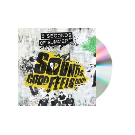5 Seconds of summer sounds good feels good white cd