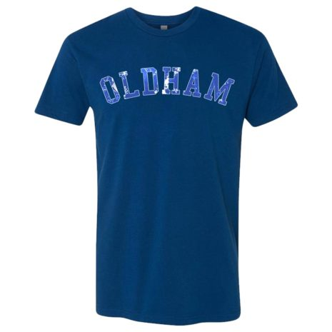KNOCKED LOOSE Oldham Cool Blue Front Tshirt