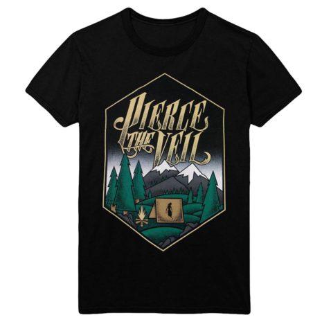 PIERCE THE VEIL Camping Tshirt