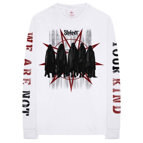 Slipknot Shrouded Group Longsleeves Front
