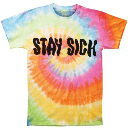 Stay Sick Clothing It's Lit Tie Dye T-shirt Front