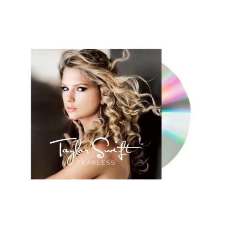 Taylor Swift Fearless UK CD