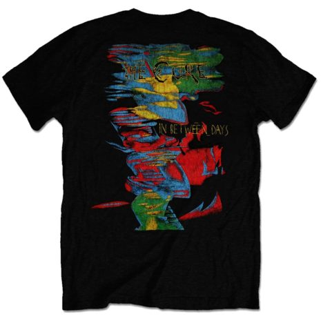 The Cure In Between Days Tshirt Back
