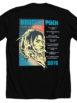 Knuckle Puck UK '18 Tour Tshirt Back