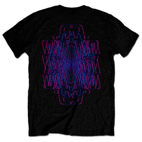 Incubus Trippy Neon Tshirt Back