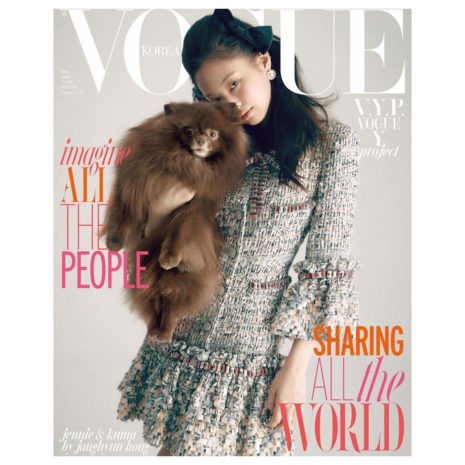 Blackpink Jennie Kim Vogue